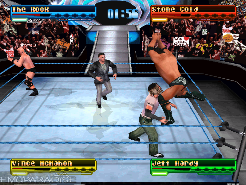 Image result for WWF Smackdown ps1